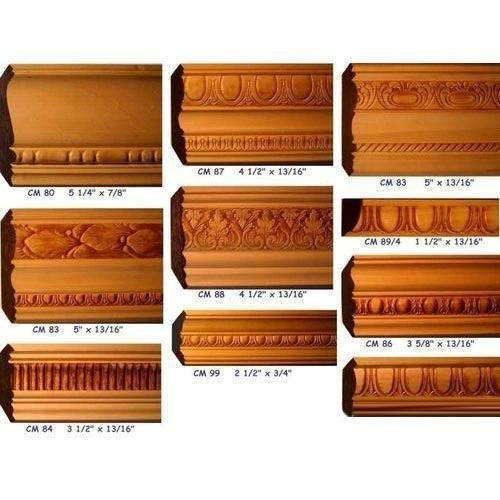 Unmatched Quality Brown Wooden Mouldings