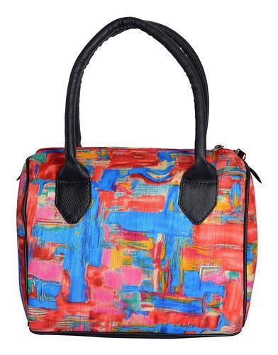 Multicolor Casual Duffle Handbag For Women