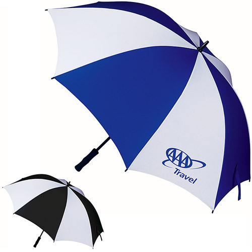 Promotional Two Colour Umbrellas