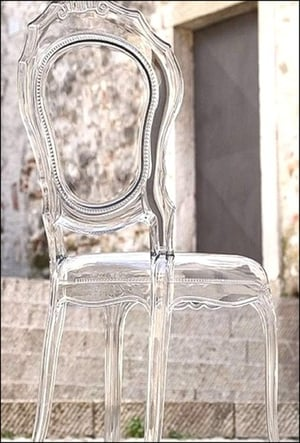 Acrylic Imported Banquet Chairs