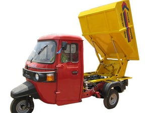 Low Noise Garbage Tipper