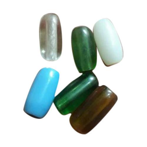 Modern Plain Glass Beads