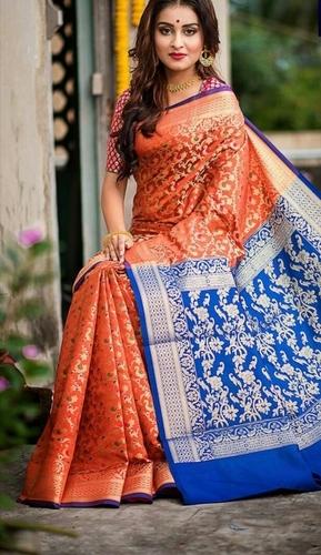 Multicolor Banarasi Paithani Saree