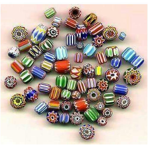 Multicolor Loose Glass Beads