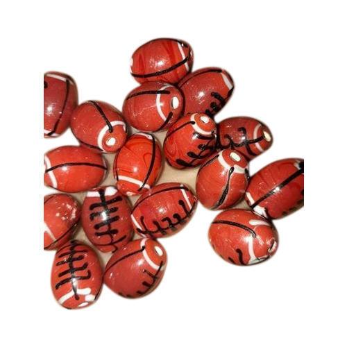 Oval Glass Seed Beads