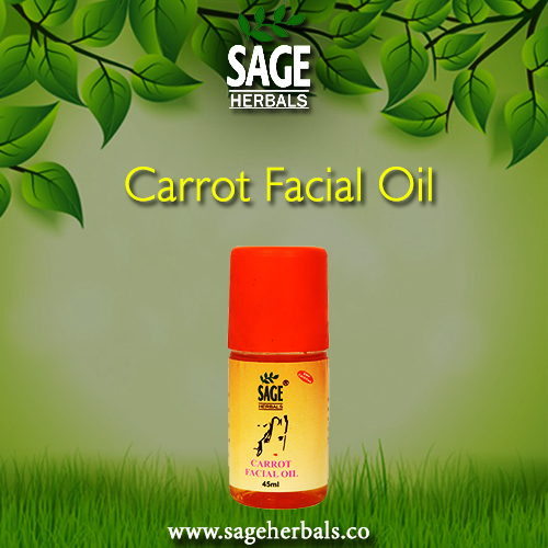 Sage Herbal Carrot Facial Oil