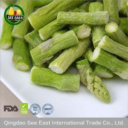 Gluten Free Freeze Dried Asparagus Certifications: Haccp