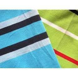 Hosiery Striped Knitted Fabric