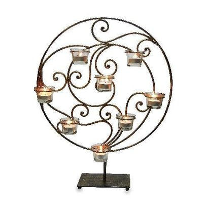 Modern T Lite Candle Stand Use: Wedding Decoration