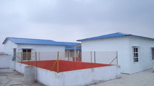 Prefabricated Structures Puf Insulated Rooms