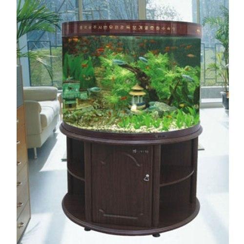 Round Shape Fish Aquarium
