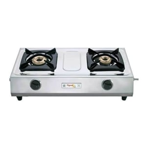 Stainless Steel Double Gas Stove (Pigeon)