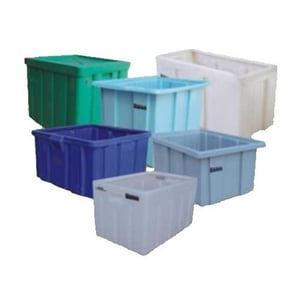 Sturdy Design Stackable Crates