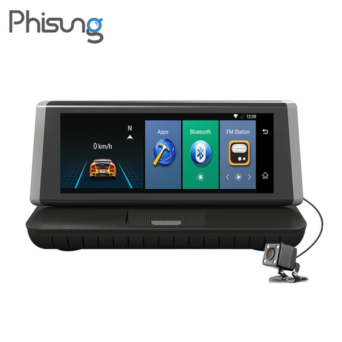 4G Dual Cams ADAS Bluetooth Gps Navi Car Video Recorder