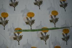 Hand Block Cotton Jaipuri Floral Print Fabric