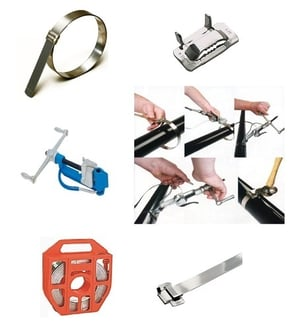 BAND-IT Stainless Steel Clamping System and Cable Ties
