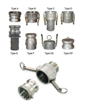 Sturdy Construction Camlock Couplings