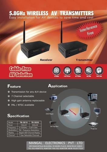 Audio Video Wireless Transmitter