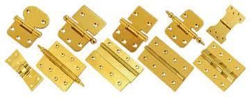 Fine Finish Brass Hinges