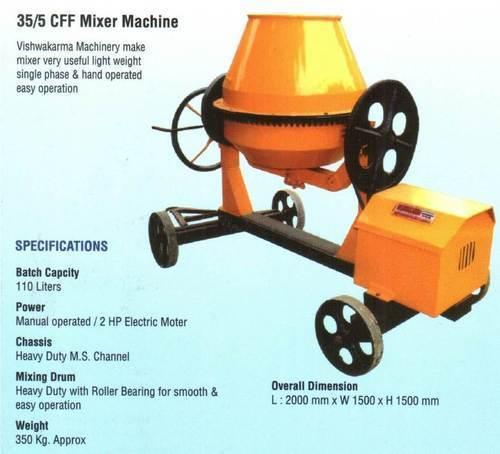 Concrete Mixer Machines In Jaipur, Rajasthan - Dealers & Traders