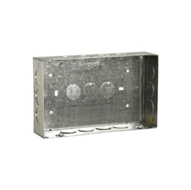 Concealed GI Sheet Modular Metal Boxes