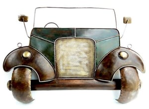 Vintage Car Mural for Wall Decor