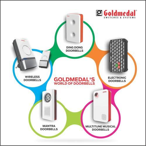 Goldmedal Electronic Door Bells