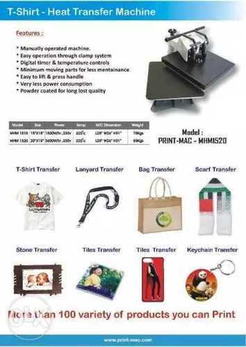 Automatic T Shirt Printing Machine at Best Price in