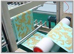 Wallpaper Flocking Printing Machine