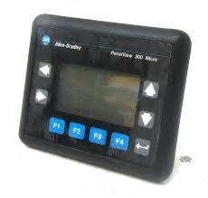 ALLEN-BRADLEY PANELVIEW 300 MICRO PLC - TAJ ELECTRICALS, C-15, VIP