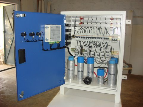 Automatic Power Factor Controller Panel Base Material: Mild Steel