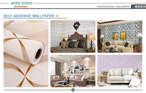 Removable Plastic Decorative Self Adhesive Pvc Vinyl Wallpaper Certifications: Sgs