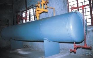 Smooth Edges Ammonia Receiver Tank