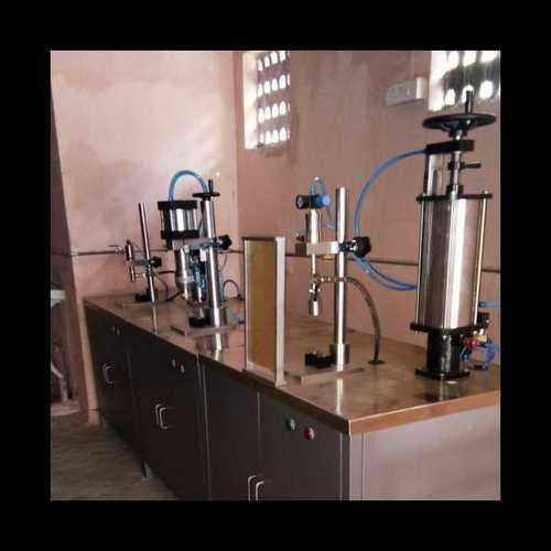 Industrial Aerosol Gas Filling Machine