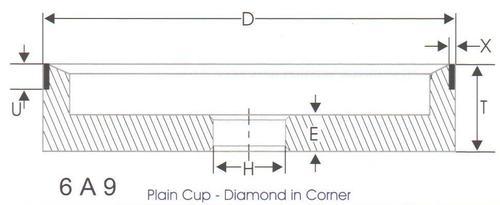 Resin Bonded Cup Type Grinding Wheel