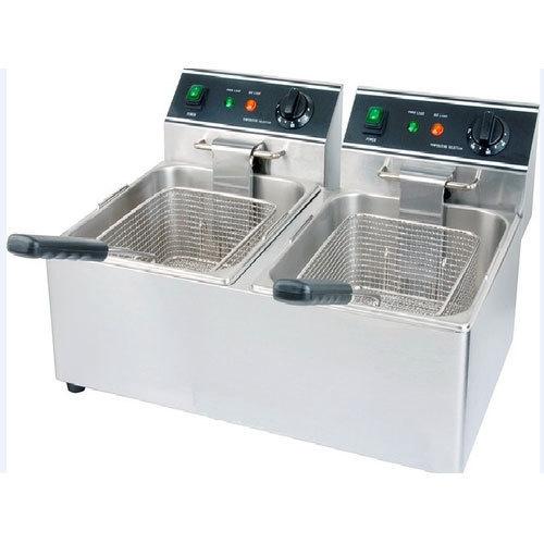 Electric Double Deep Fryer