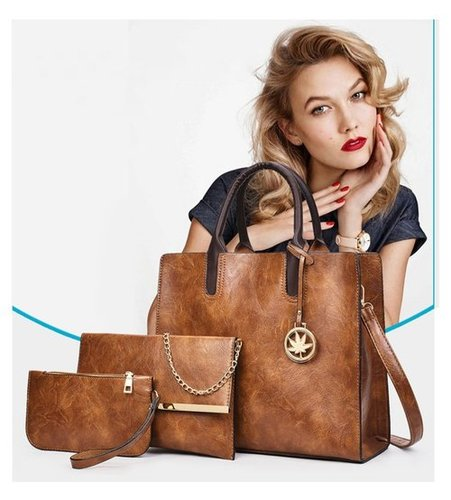 Brown Leather Bag For Women