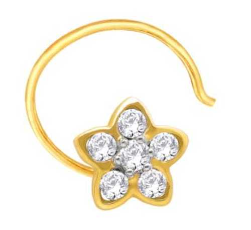 Fancy Gold Nose Ring Gender: Women'S