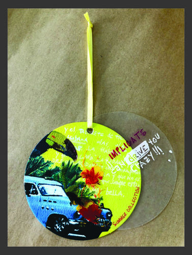Customised Paper Hang Tag