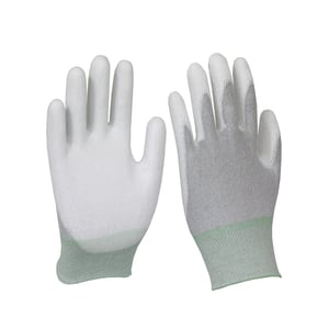 ESD Safe Anti Static Palm & Finger Coated Latex Gloves