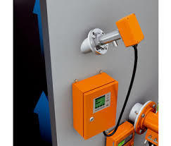 Stack Gas Volume Flow Measurement Device