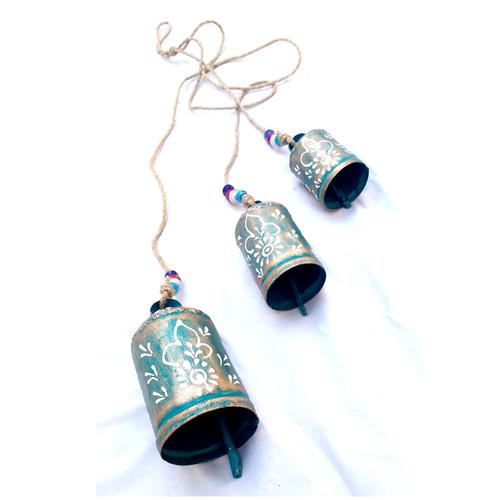 Firozi Iron Hanging Bells