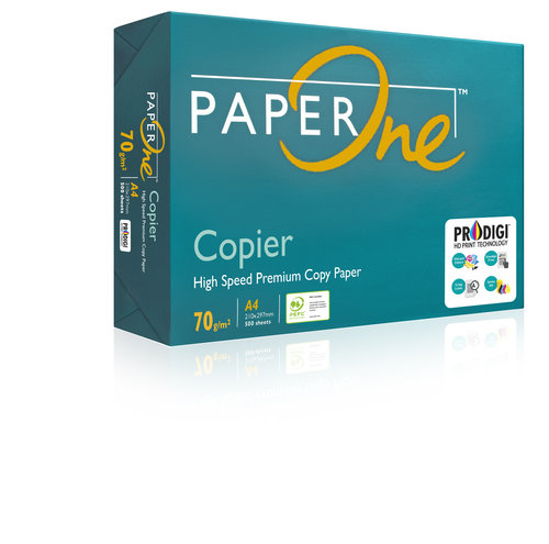 PaperOne Copier 70 gsm A4 Copy Paper (Pack of 500 Sheets)