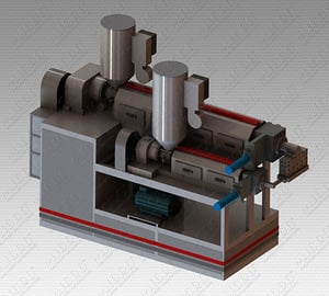 PP Coating Box Strapping Line
