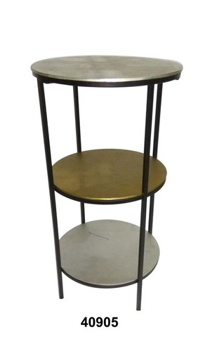 3 Tier Round Table