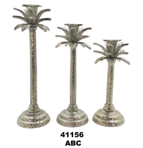 Decorative Aluminium Candle Holders