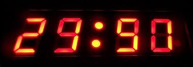 Superior Finish Precision Digital Clocks