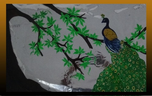 Attractive Look Peacock Painting