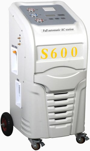 Automatic Car Service Station Refrigerant Recovery Unit