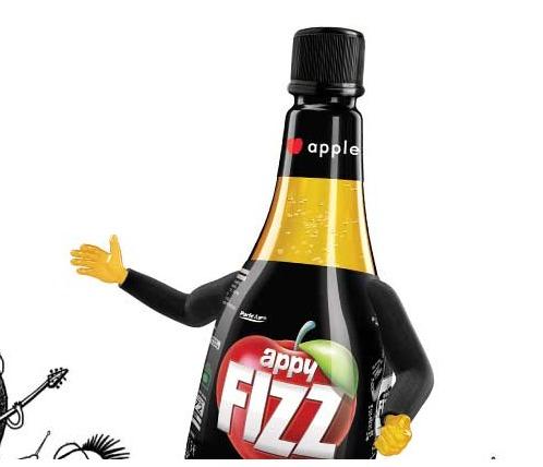 Appy Fizz Bottle